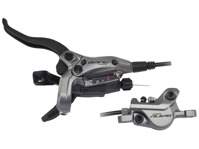 Shimano Alivio BR-M4050 schijfrem voorwiel grijs